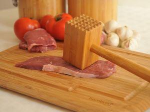 Чук за месо, бамбук // 35 см /BAM 127/