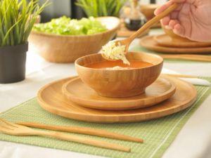 Купа за супи, бамбук // 15х6см /BAM 35/