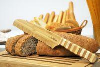 Нож за хляб, бамбук // 32,4х3,9х1,7 см /BAM 220/