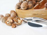 Уред за чупене на ядки с плато, бамбук // 19х30х4,5 см /BAM 145/