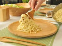 Лъжица за спагети, бамбук  // 30х6,5 см /BAM 98/
